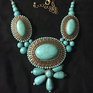 Jewelry - Turquoise Color Mexican necklace